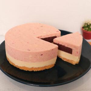 草莓千層生乳酪蛋糕(葷)